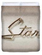 Star Emblem Duvet Cover