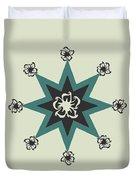 Star Flower - The Light Side Duvet Cover