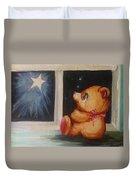 Star Light Bear Duvet Cover