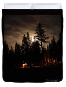 Star Lit Camp Duvet Cover