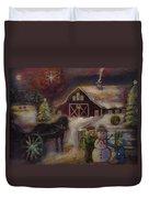 Star Of Bethlehem Duvet Cover