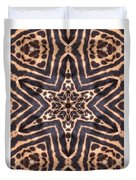 Star Of Cheetah Duvet Cover