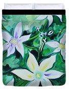 Star Of The Garden Duvet Cover