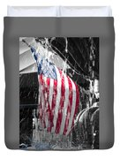 Star Spangled Splash  Duvet Cover