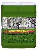 Star Tulips Duvet Cover