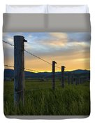 Star Valley Duvet Cover by Chad Dutson