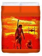 Star Wars 8 Last Jedi - Pa Duvet Cover