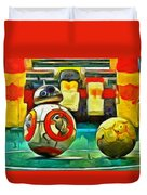 Star Wars Brothers - Pa Duvet Cover