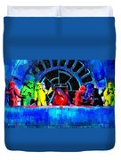 Star Wars Empire Last Supper - Pa Duvet Cover