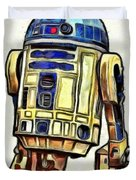 Star Wars R2d2 Droid - Da Duvet Cover