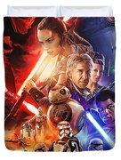 Star Wars The Force Awakens Artwork Duvet Cover