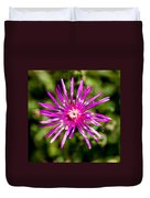 Starburst Of The Wildflowers Duvet Cover