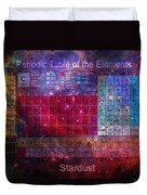 Stardust Periodic Table Duvet Cover