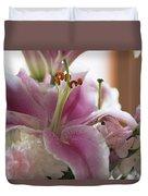 Stargazer Oriental Lilly Duvet Cover