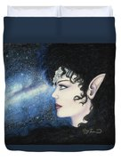 Starlight Maiden Duvet Cover