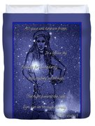 Starlight Of Space And Time 4 Duvet Cover