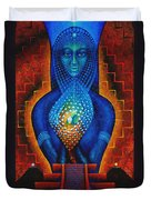 Starlight Temple Of The Dawn Duvet Cover