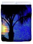 Starry Night At Casapaz Duvet Cover