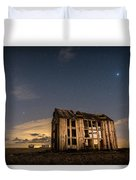 Starry Night At Dungeness Duvet Cover