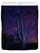 Starry Starry Sonoran Skies  Duvet Cover