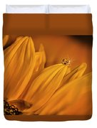 Starry Sunflower Duvet Cover
