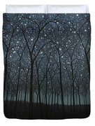 Starry Trees Duvet Cover