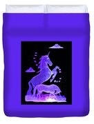 Starry Unicorns Duvet Cover