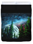 Stars And Moon Duvet Cover