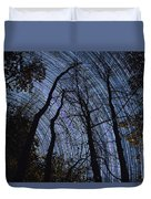 Stars And Silhouettes Duvet Cover