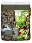 Stars Around Tree 1 Duvet Cover
