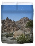 Stars Shining Over Indian Cove Duvet Cover