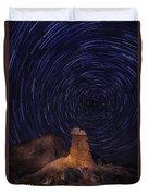 Stars Trails Duvet Cover