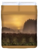 Start Of A New Day Duvet Cover by Blanca Braun