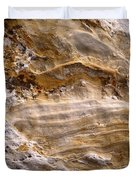 Starvedrocksandstonepatterns Duvet Cover