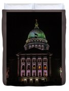 State Capitol Madison Wi Duvet Cover