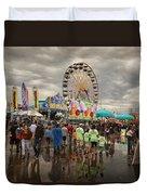 State Fair Of Oklahoma Duvet Cover