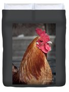 State Fair Rooster Duvet Cover