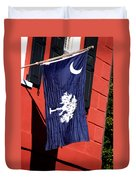 State Flag Of South Carolina Duvet Cover