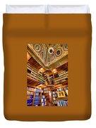 Stately Library Duvet Cover