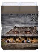 Station - Westfield Nj - The Train Station Duvet Cover