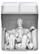 Statue Of Abraham Lincoln - Lincoln Memorial #4 Duvet Cover