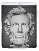 Statue Of Abraham Lincoln - Lincoln Memorial #6 Duvet Cover