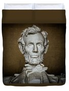 Statue Of Abraham Lincoln - Lincoln Memorial #7 Duvet Cover