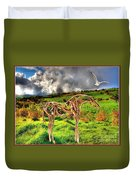 Statue Of Branches 3 Duvet Cover