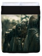 Statue Of Idle Thought Duvet Cover