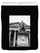 Statue Of King Edward Vii Duvet Cover