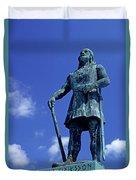 Statue Of Leif Ericksson  Duvet Cover