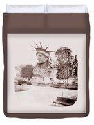 Statue Of Liberty 1883 Duvet Cover