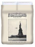 Statue Of Liberty, 1909 Duvet Cover
