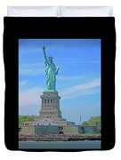 Statue Of Liberty 21 Duvet Cover